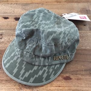 Rip Curl Accessories - NWT Ripcurl Green Distressed Hat One Size